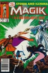 Magik (1983-1984) #1 Variant A: Newsstand Edition