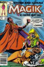 Magik (1983-1984) #3 Variant A: Newsstand Edition