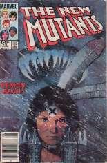 New Mutants (1983-1991) #18 Variant A: Newsstand Edition