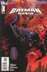 Batman and Robin (2011-2015) #1 Variant B: 2nd Printing