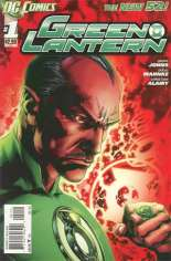 Green Lantern (2011-2018) #1 Variant F: 2nd Printing