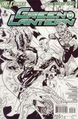 Green Lantern (2011-2018) #2 Variant C: Sketch Cover