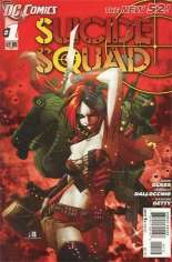 Suicide Squad (2011-2014) #1 Variant B: 2nd Printing