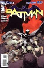 Batman (2011-2016) #1 Variant E: 2nd Printing