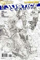 Justice League (2011-2016) #2 Variant D: Sketch Cover