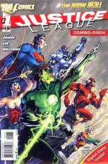 Justice League (2011-2016) #1 Variant I: Combo Pack; 3rd Printing