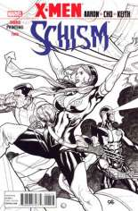 X-Men: Schism (2011) #2 Variant D: 3rd Printing