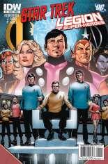 Star Trek/Legion of Super-Heroes #1 Variant A