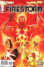 Fury of Firestorm: The Nuclear Men (2011-2013) #1 Variant B: 2nd Printing