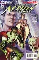 Action Comics (2011-2016) #3 Variant B: 1:5 Variant
