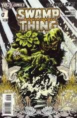 Swamp Thing (2011-2015) #1 Variant C: 3rd Printing
