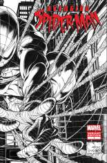 Avenging Spider-Man (2012-2013) #1 Variant F: 1:200 Wraparound Sketch Cover