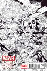 Point One (2012) #One-Shot  Variant C: Sketch Cover