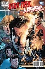 Star Trek/Legion of Super-Heroes #2 Variant A
