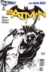 Batman (2011-2016) #3 Variant D: Sketch Cover