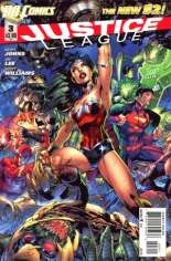 Justice League (2011-2016) #3 Variant A