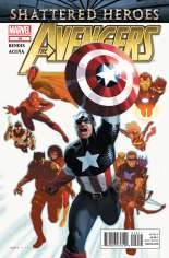 Avengers (2010-2012) #19 Variant B: Direct Edition