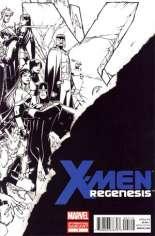 X-Men: Regenesis (2011) #1 Variant C: 2nd Printing