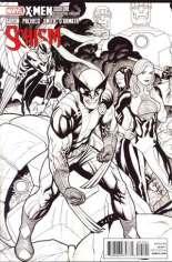 X-Men: Schism (2011) #1 Variant I: X Printing