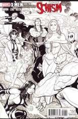 X-Men: Schism (2011) #2 Variant E: X Printing