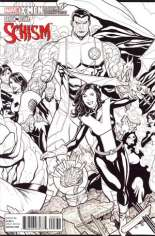 X-Men: Schism (2011) #3 Variant D: X Printing