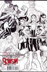 X-Men: Schism (2011) #4 Variant C: X Printing