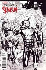 X-Men: Schism (2011) #5 Variant D: X Printing