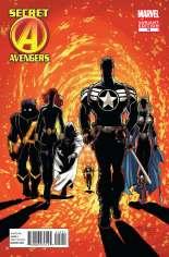 Secret Avengers (2010-2013) #19 Variant B: Marvel 50th Anniversary Cover