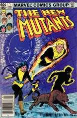New Mutants (1983-1991) #1 Variant A: Newsstand Edition