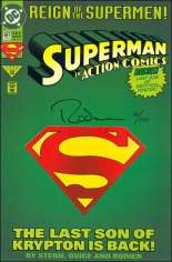 Action Comics (1938-2011, 2016-Present) #687 Variant E: DF Signed Edition; Signed by Denis Rodier; Limited to 100 Copies