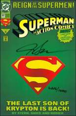 Action Comics (1938-2011, 2016-Present) #687 Variant D: DF Signed Edition; Signed by Jackson Guice; Limited to 10,000 Copies
