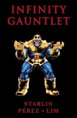 Infinity Gauntlet (1991) #TP Variant F: 3rd Edition