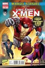 Uncanny X-Men (2011-2012) #2 Variant B: Marvel 50th Anniversary Cover