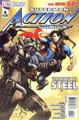 Action Comics (2011-2016) #4 Variant A