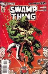 Swamp Thing (2011-2015) #2 Variant B: 2nd Printing