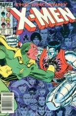 Uncanny X-Men (1963-2011) #191 Variant A: Newsstand Edition