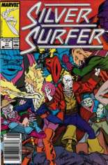 Silver Surfer (1987-1998) #11 Variant A: Newsstand Edition