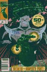 Silver Surfer (1987-1998) #50 Variant A: Newsstand Edition; Silver Foil Embossed Cover