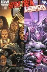 Star Trek/Legion of Super-Heroes #3 Variant A