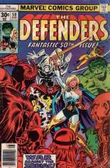 Defenders (1972-1986) #50 Variant A: Newsstand Edition