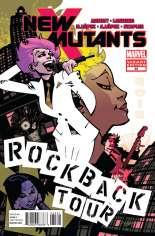 New Mutants (2009-2012) #35 Variant B: 1:8 Variant