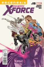 Uncanny X-Force (2010-2012) #19 Variant A