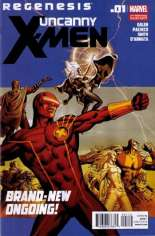 Uncanny X-Men (2011-2012) #1 Variant E: 2nd Printing
