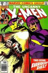 Uncanny X-Men (1963-2011) #142 Variant A: Newsstand Edition
