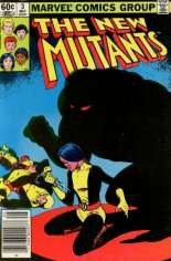 New Mutants (1983-1991) #3 Variant A: Newsstand Edition