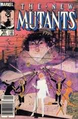 New Mutants (1983-1991) #31 Variant A: Newsstand Edition