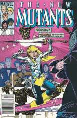 New Mutants (1983-1991) #34 Variant A: Newsstand Edition