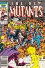 New Mutants (1983-1991) #46 Variant A: Newsstand Edition
