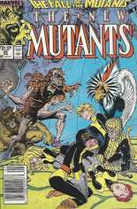 New Mutants (1983-1991) #59 Variant A: Newsstand Edition