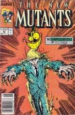 New Mutants (1983-1991) #64 Variant A: Newsstand Edition